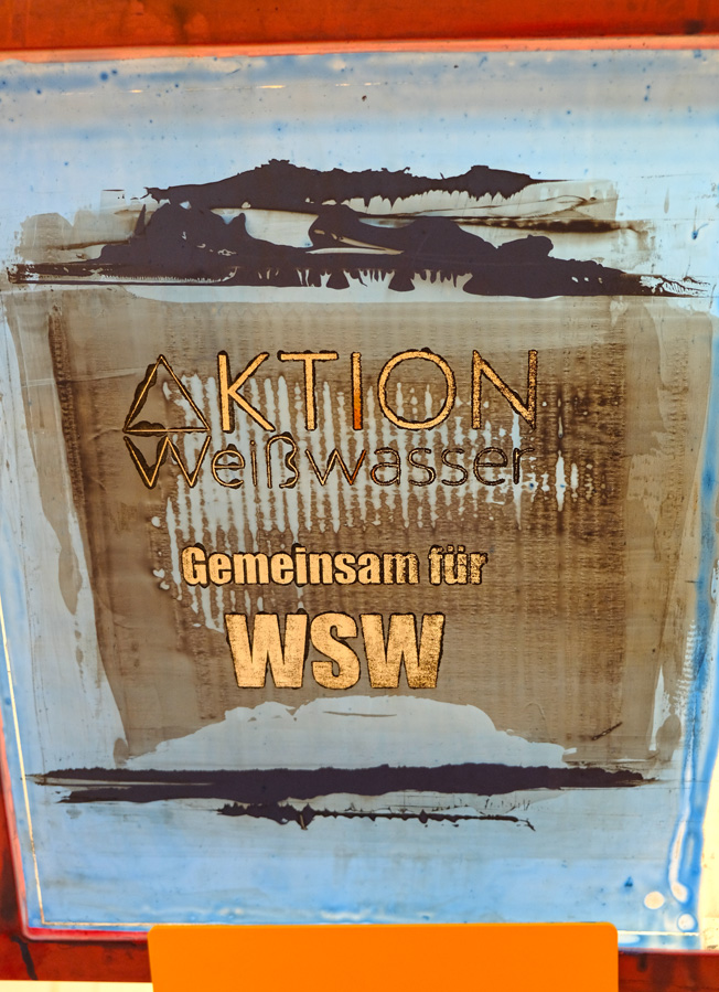 AKTION WSW - Siebdruck 1